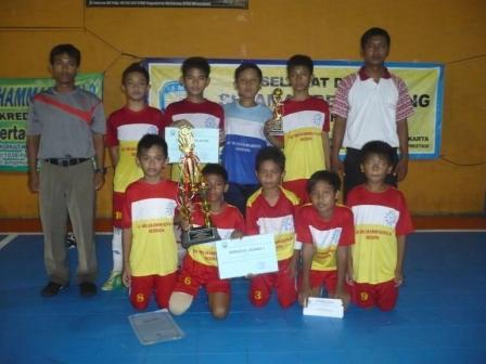 SD Muhammadiyah Bodon Juara 1 Futsal