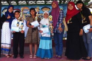 SD MUHAMMADIYAH BODON Juara Story Telling English Fiesta DIY